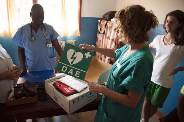 Congo (centro Africa), precisamente all'Ospedale S.ta G. Bakhita di Ariwara
